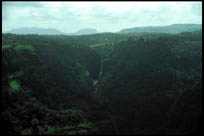 Waterfall, View from Rajmachi Point, Lonavla, Maharashtra