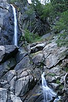 Grizzly Falls, Waterfall, Kings Canyon National Park