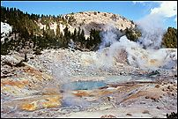 Underground lava boils water at the surface, Bumpass Hell, Lassen Volcanic National Park