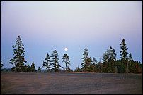 Moonrise, Lassen Volcanic National Park
