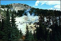 Steam, Bumpass Hell, Lassen Volcanic National Park