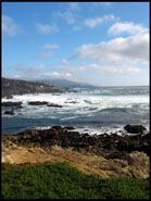 Coast, Ocean and Sky, 17 mile drive, Monterey