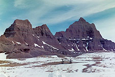 Mountain Peaks, Badlands National Park