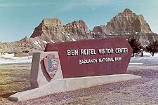 Ben Reifel Visitor Center, Badlands National Park