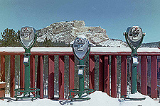 Binocular Viewers, Crazy Horse Memorial, South Dakota