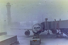 Snow Storm at Denver Airport
