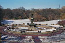 Bethesda Fountain, Central Park, New York City