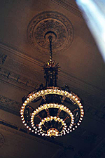 Chandelier, Grand Central Terminal, New York City