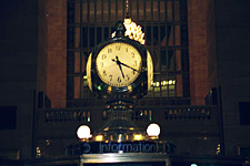 Clock, Grand Central Terminal, New York City