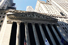 The New York Stock Exchange, Wall Street, New York City