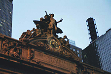 Mercury, Minerva and Hercules, Grand Central Terminal, New York City