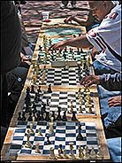 Chess on Market and Fifth Streets