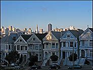 Postcard Row, Alamo Square, San Francisco