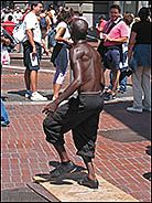 Tap Dancer, Market Street, San Francisco