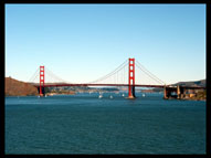 Golden Gate Bridge, View from Land