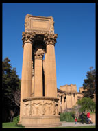 Pillars, Palace of Fine Arts, San Francisco