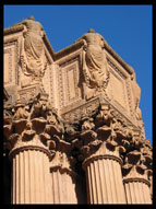Detail, Palace of Fine Arts, San Francisco