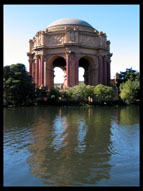 Palace of Fine Arts reflected in the pool, San Francisco