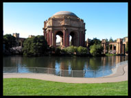 Walkway around the Palace of Fine Arts, San Francisco