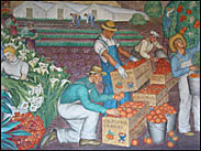 Mural, Coit Tower, San Francisco