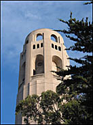 Top of Coit Tower, San Francisco