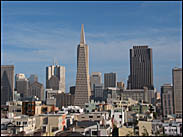 San Francisco Skyline from Coit Tower, San Francisco