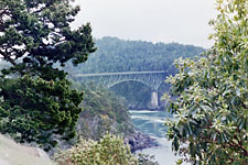 Bridge over Deception Pass, near Seattle