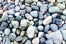 Pebbles at Deception Pass, near Seattle