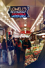 Inside the Seattle Pike Market, Seattle