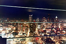 Seattle Skyline at Night from atop the Space Needle