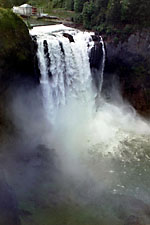 Snoqualmie Falls, Near Seattle