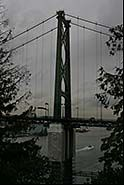Lions Gate Bridge, Vancouver, British Columbia, Canada