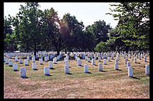 Tombstones, Arlington National Cemetery, Washington, D.C.