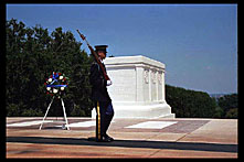 Tomb of the Unknown Soldier, Arlington National Cemetery, Washington, D.C.