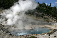 Beryl Spring, Yellowstone National Park