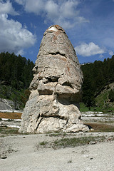 Liberty Cap, Mammoth Hot Springs, Yellowstone National Park