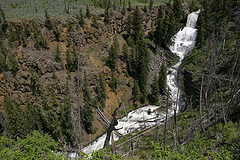 Undine Falls,Yellowstone National Park
