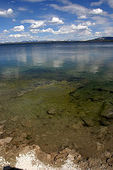 Lake Yellowstone from West Thumb