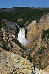 Artist Point, Lower Falls, Yellowstone National Park