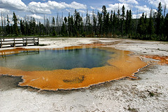 Emerald Pool, Black Sand Basin,Yellowstone National Park