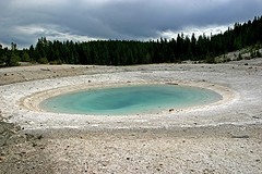 Congress Pool, Porcelain Basin, Norris Geyser Basin, Yellowstone National Park