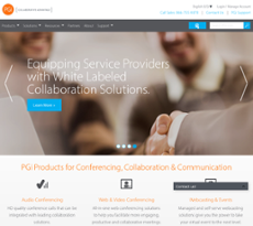 Premiere Global Services website history