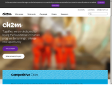 CH2M website history