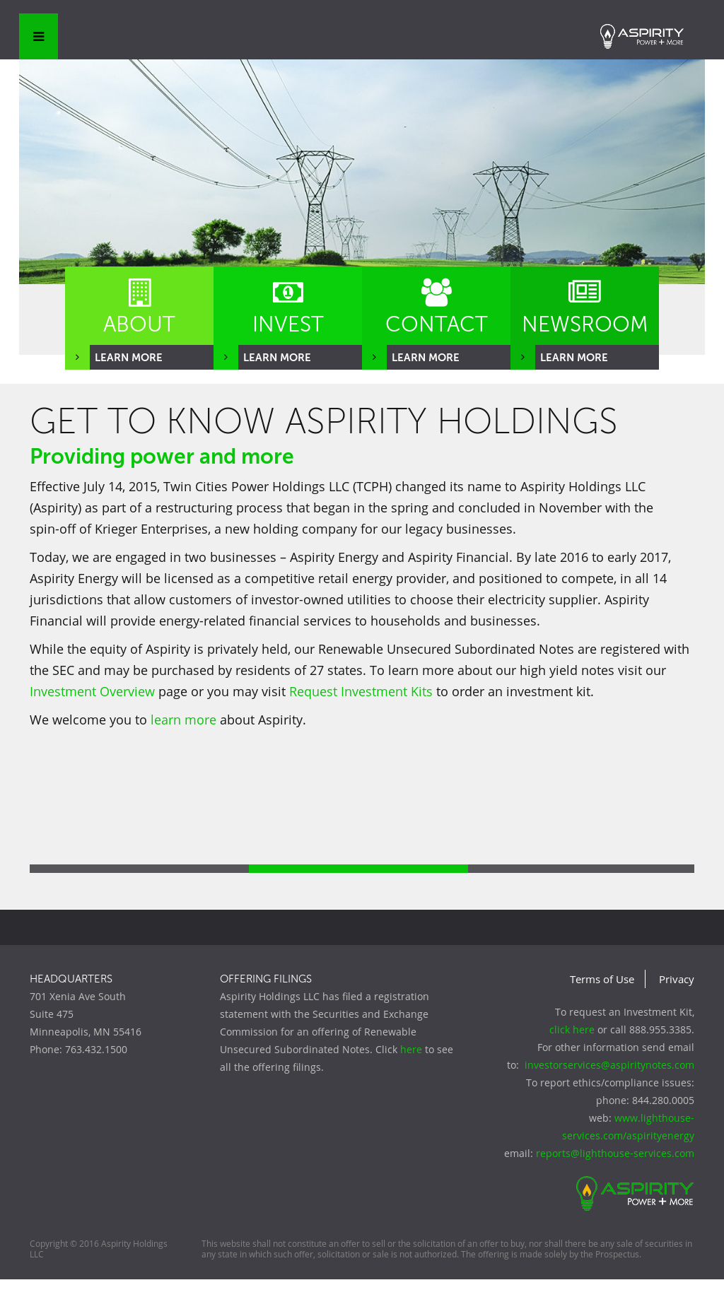 is aspirity holdings a good investment Aspirity Holdings Competitors, Revenue and Employees - Owler Company ...