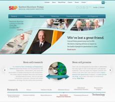 Sanford-Burnham website history