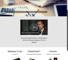 SPYRUS website history