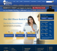 First Mid-Illinois Bancshares website history