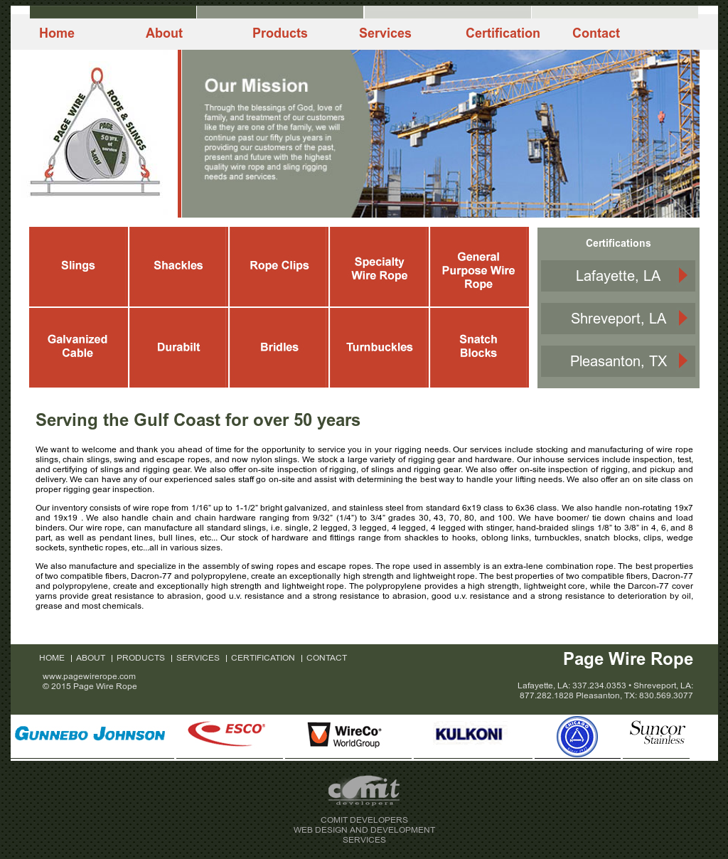 Page Wire Rope & Slings Competitors, Revenue and Employees - Owler ...