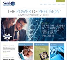 Selah Genomics website history