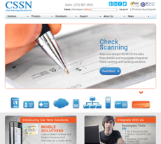 Card Scanning Solutions website history